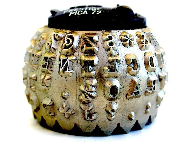 Image of selectric typewriter ball