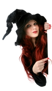 image of a witch