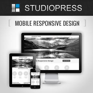 image of StudioPress responsive design logo