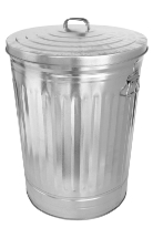 image of trash can