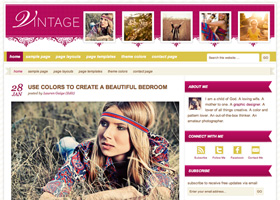 image of the Vintage theme for WordPress