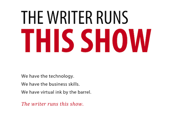 The Writer (Still) Runs This Show
