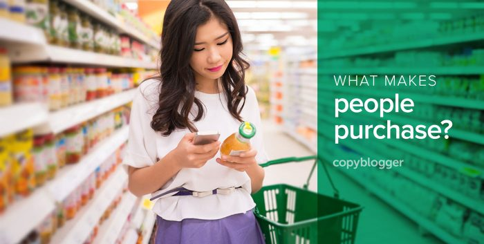 what makes people purchase?