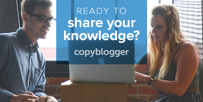 How to Structure and Sell Your Natural Expertise - Copyblogger