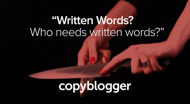 Why Copyblogger Is Killing Its Blog - Copyblogger
