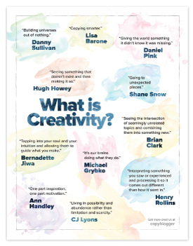 copyblogger-what-is-creativity-poster