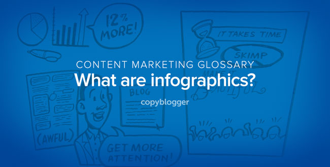 content marketing glossary - what are infographics?