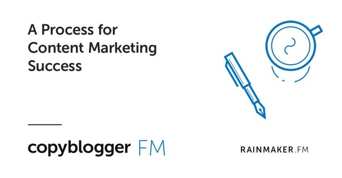 Copyblogger FM - A Process for Content Marketing Success