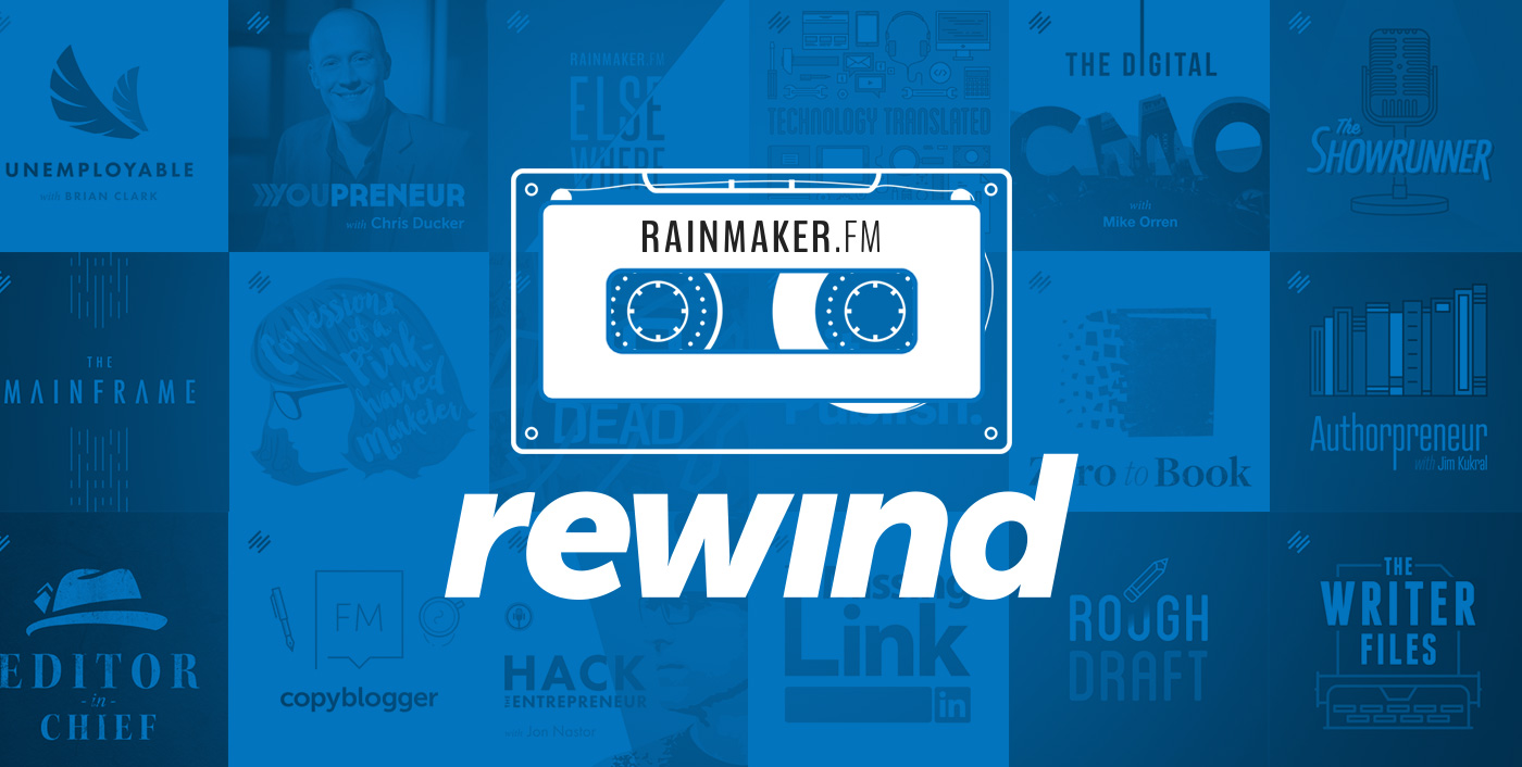 Rainmaker Rewind: From Infoproducts to Software Rockstar, with ConvertKit's Nathan Barry