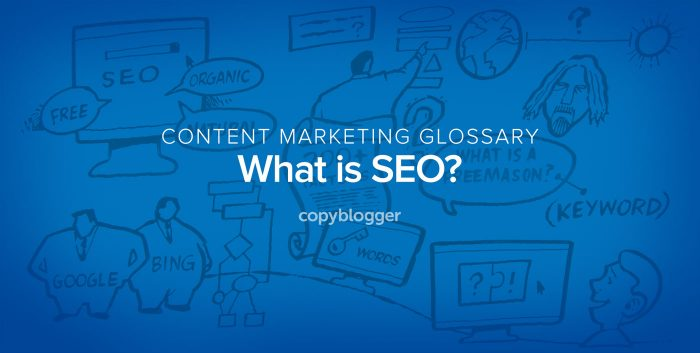 content marketing glossary - what is SEO?