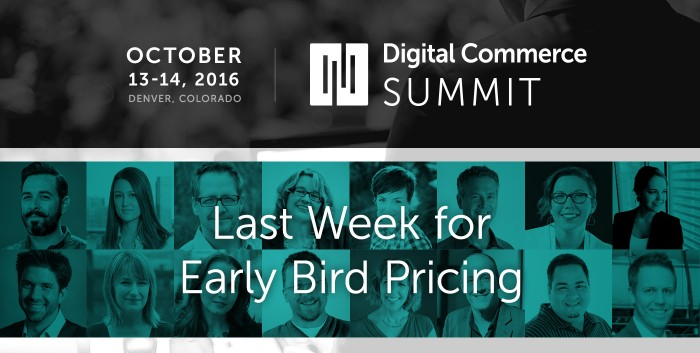 Top 3 Reasons to Get Your Digital Commerce Summit Tickets Now