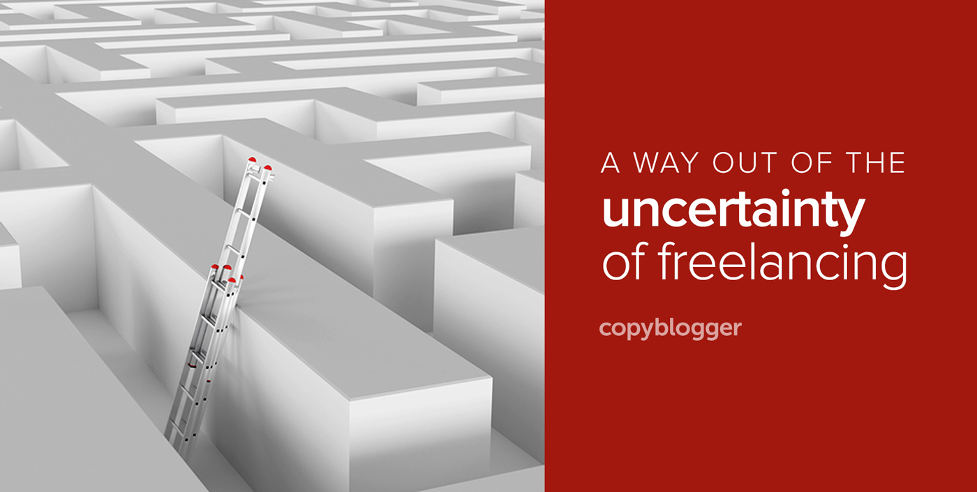 A Simple Way Out of Your Precarious Freelance Income Problem