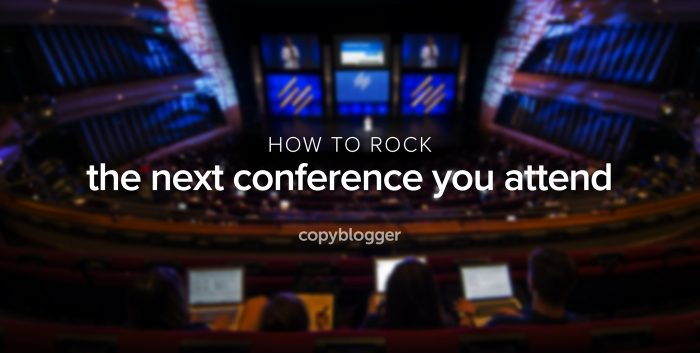 Make the most of your next conference