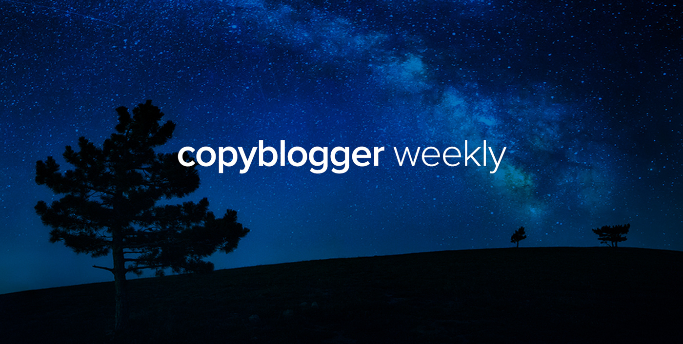 It's 'Light the Fire' Week on Copyblogger