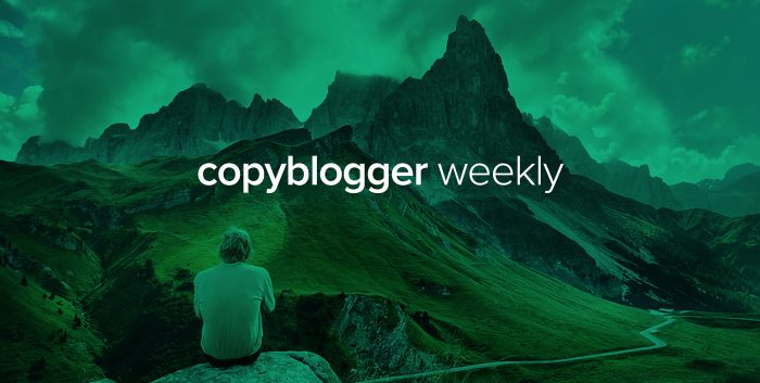 It's 'We Love the Writer' Week on Copyblogger