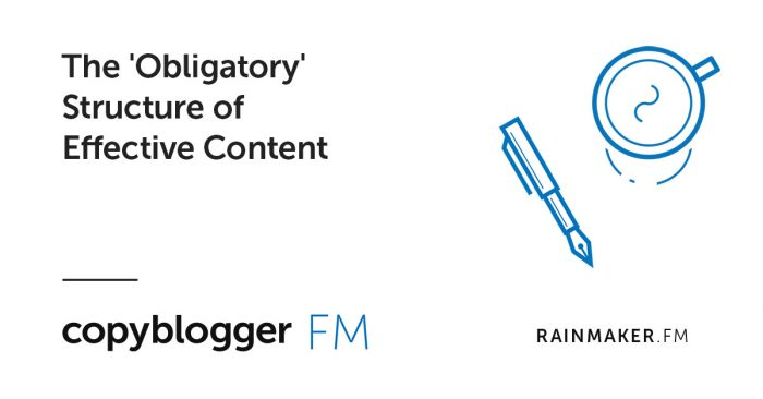 The 'Obligatory' Structure of Effective Content