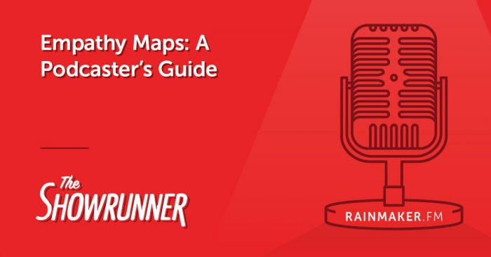 Empathy Maps: A Podcaster's Guide