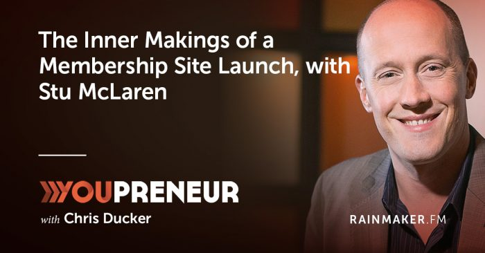 The Inner Makings of a Membership Site Launch, with Stu McLaren