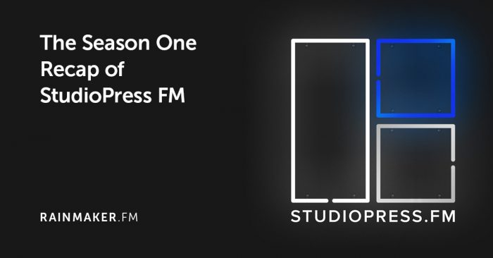 The Season One Recap of StudioPress FM