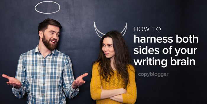 how to harness both sides of your writing brain