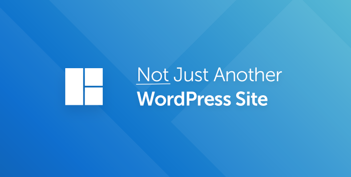 Not Just Another WordPress Site