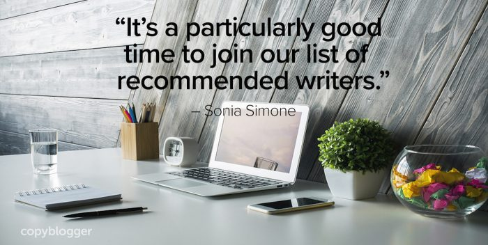 it's a particularly good time to join our list of recommended writers