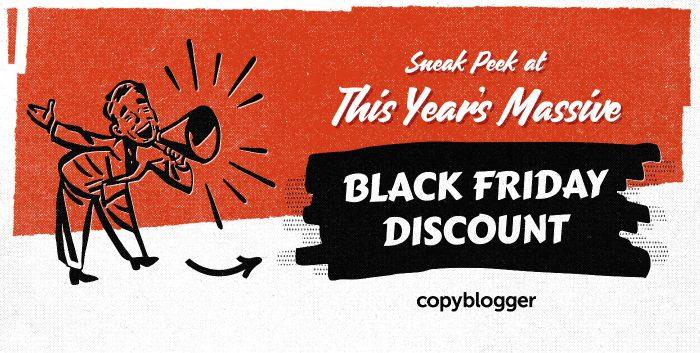 sneak peek at this year's massive black friday discount