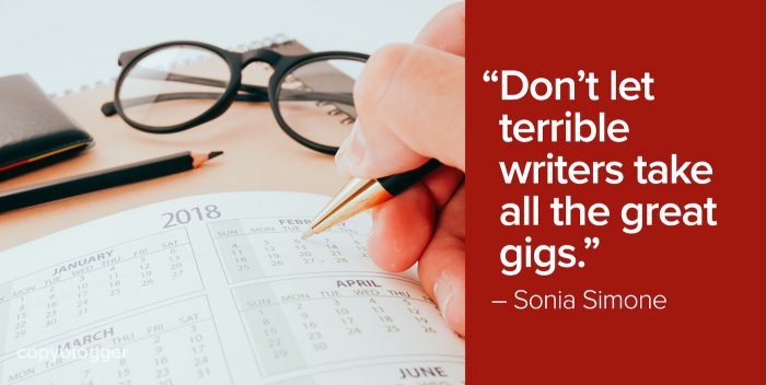 don't let terrible writers take all the great gigs