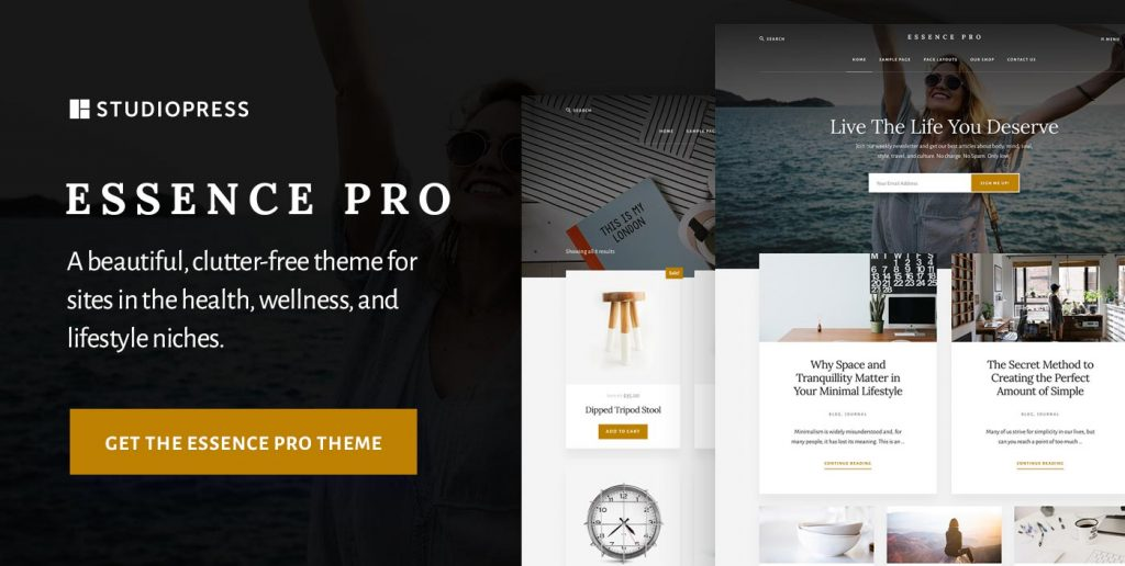 Essence Pro: A Theme that Allows You to Focus on the Essentials