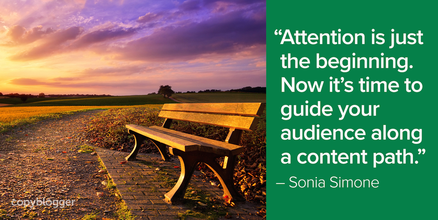 The Content Path: Moving from Attention to Action