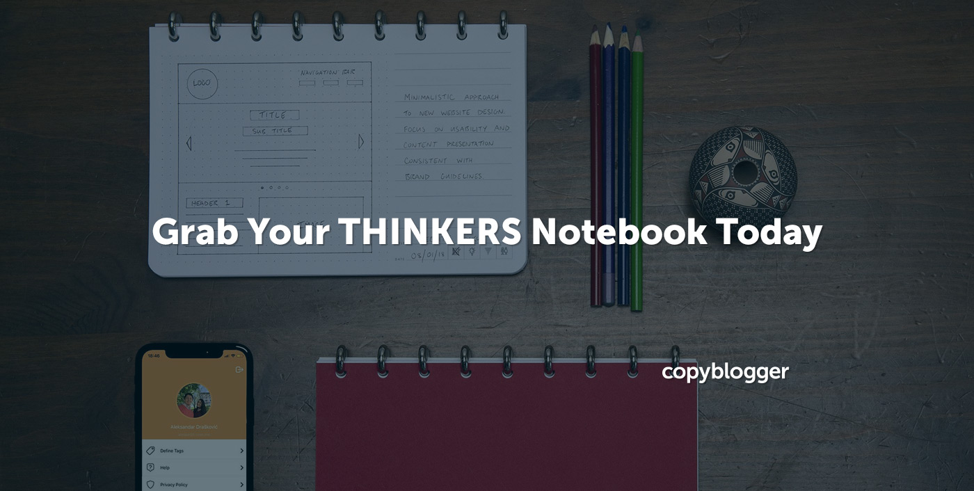 Grab Your THINKERS Notebook Today