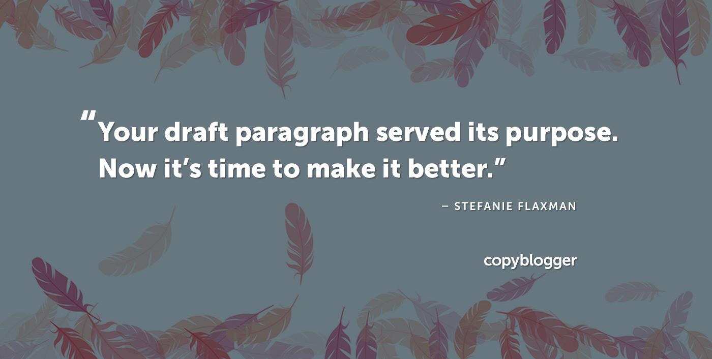 10 Advanced Edits that Craft Better Paragraphs