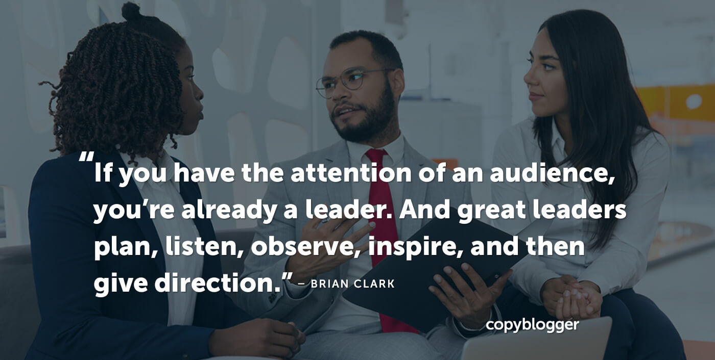 Thought Leadership Is a Synonym for Attention